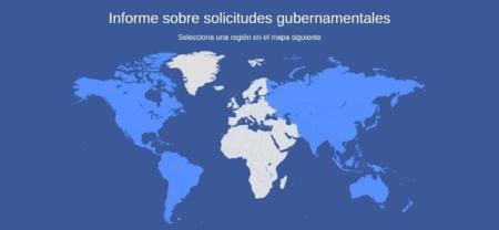 El Gobierno de España le ha solicitado a Facebook información sobre 860 usuarios en medio año