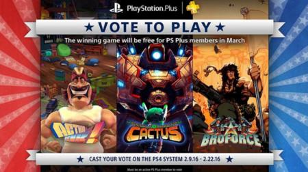 Vota tus Juegos de PlayStation Plus regresa con otros tres títulos más para elegir de PS4
