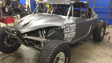 Un buggy eléctrico competirá en la carrera Baja