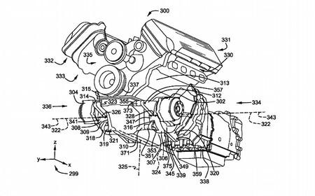 Patente V8 Hibrido Ford 1