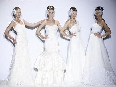 Los mejores vestidos de Novia 2010 sobre la Pasarela Gaudí