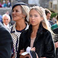 Boda de la princesa Eugenia de York y Jack Brooksbank: y de repente llegó Kate Moss (junto a su hija)