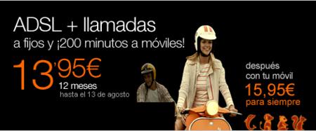 Orange añade más minutos en llamadas a móviles pero con horario reducido a su oferta de ADSL