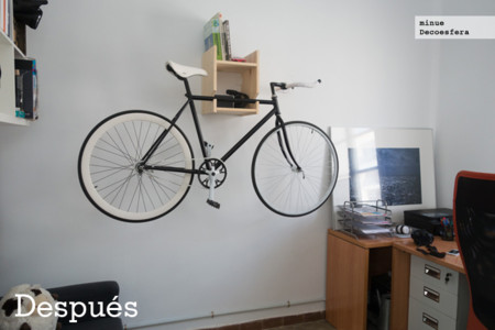 Hazlo t mismo una estanter a para colgar la bici for Soporte estanteria ikea