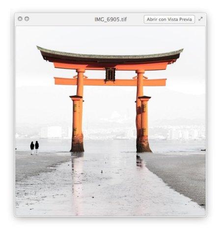 Mac OS X Lion Beta Finder Vista Previa Quick View