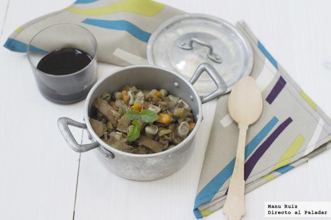 cocina de berenjenas