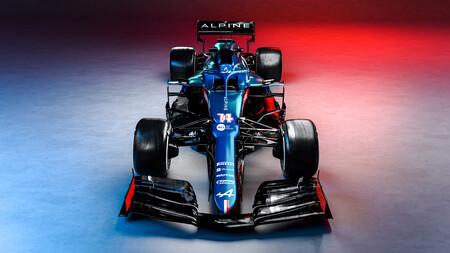 Alpine Alonso F1 2021 2