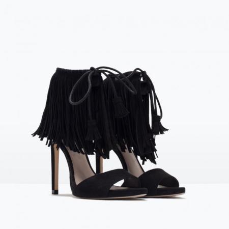 Stuart Weitzman Sandalias Lovefringe Zara Clon 2