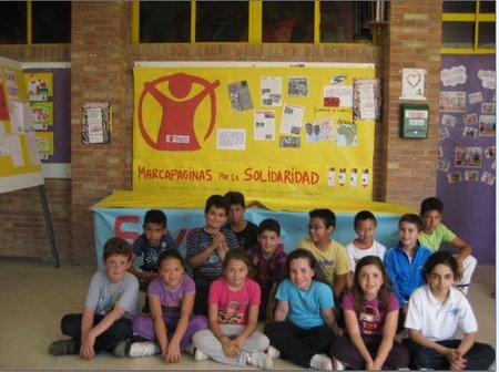 Marcapáginas solidarios para colaborar en la creación de escuelas en la República Democrática del Congo