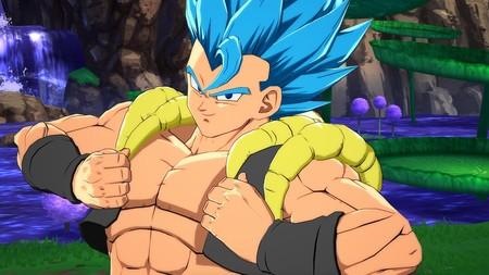 Dragon Ball FighterZ: Gogeta aparece en un nuevo set de imágenes y, a juzgar por sus técnicas, estará rotísimo