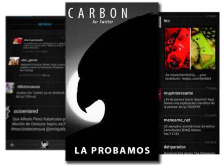 Carbon for Twitter para Android, la probamos