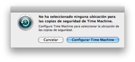 Cómo solucionar un fallo en una copia de Time Machine