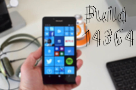 La Build 14364 ya está disponible para los Insiders dentro del anillo rápido en Windows 10 Mobile