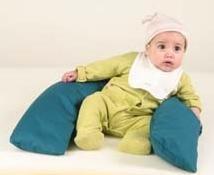 Sentar al bebé