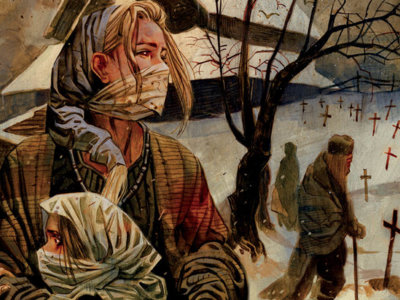'Northlanders: La Viuda de la Plaga', la desolación del invierno