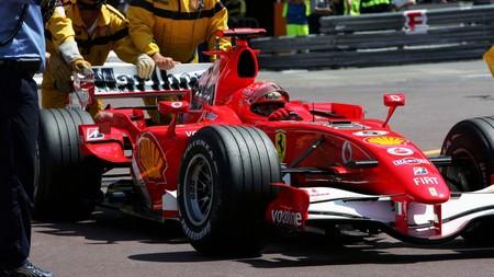 Schumacher Monaco F1 2006