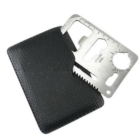 La herramienta de 11 funciones de Sodial con forma de tarjeta cuesta sólo 0,35 euros en Amazon