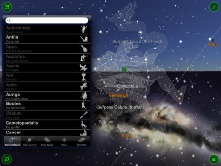 Buscando constelaciones