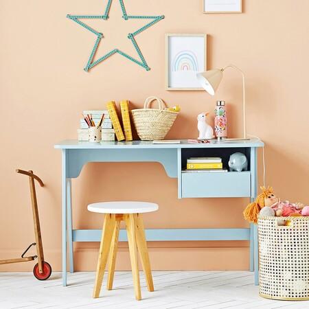 Vuelta al cole: escritorios e ideas para crear zonas de estudio bonitas para los peques de la casa