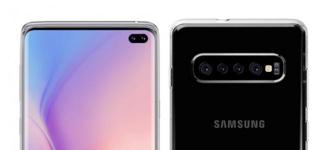Las imágenes de unas carcasas desvelan que el Galaxy S10 Plus tendría cuatro cámaras traseras y dos frontales