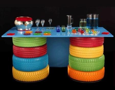 mesa neumáticos