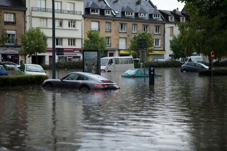 Porsche 911 en Caen