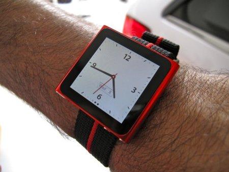 Convierte el nuevo iPod nano en un reloj de correa