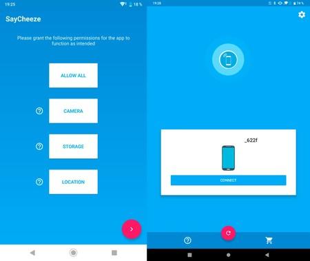 Disparador Remoto Móviles Android™ Saycheeze