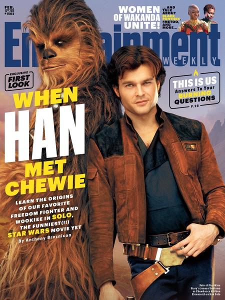 Han Solo y Chewie