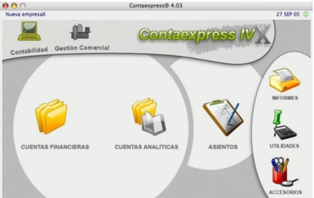 CC Soft software de gestión para Mac