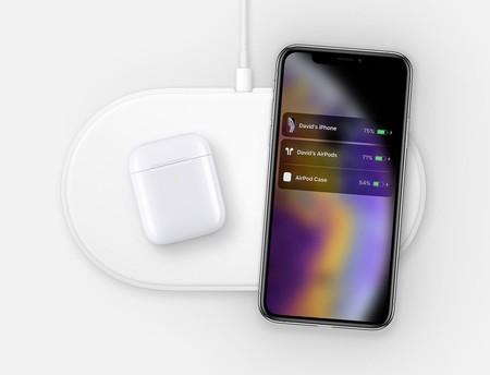 Descubierta una imagen de la AirPower con el iPhone XS y los nuevos AirPods