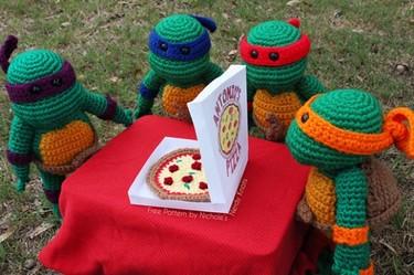 DIY: Hazlo tu mismo, las Tortugas Ninja de ganchillo