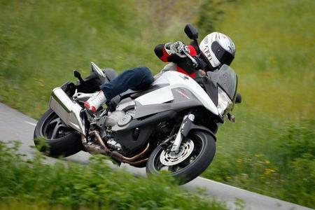 Honda Crossrunner en acción 9