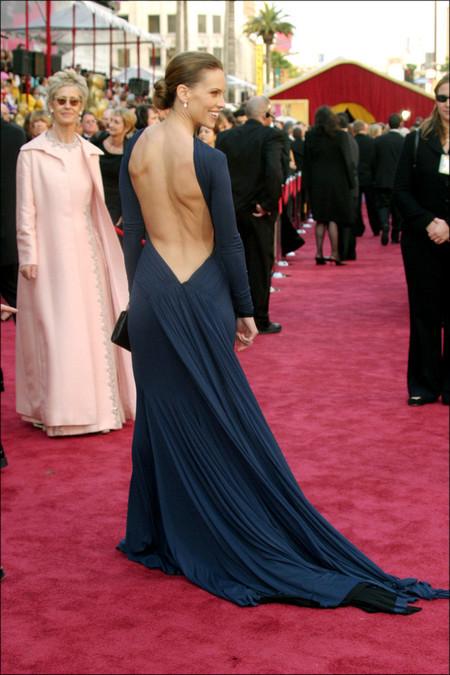 Oscar lo lució Hilary Swank en 200