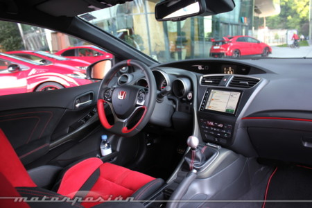 Honda Civic Type R 2015 Prueba A 135