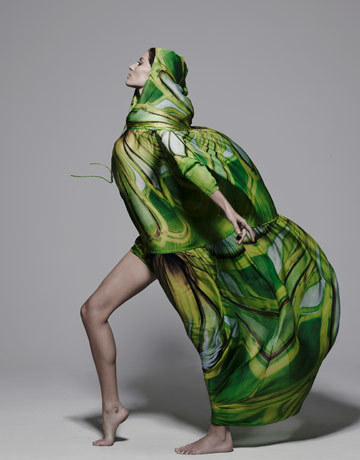 Gisele Bundchen gown Cavalli