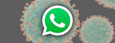 WhatsApp estrena bot del coronavirus en español, así puedes informarte hablando con la OMS
