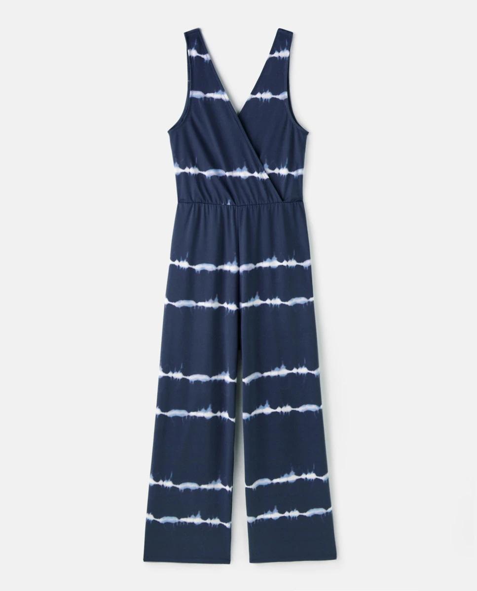 Mono midi cruzado con estampado tie-dye de Easy Wear