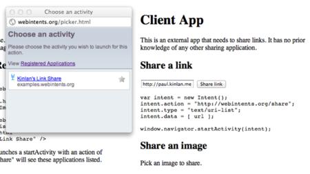 Web Intents, la iniciativa de Mozilla y Google para conectar las aplicaciones web entre sí