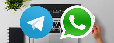 Cómo intercambiar fotos y vídeos entre móvil y PC con Telegram y WhatsApp