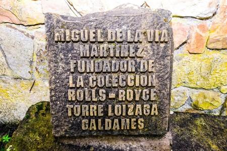 Placa Miguel de la Vía Torre Loizaga