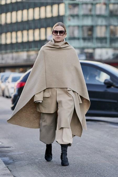 Abrigo Capa Mujer 1