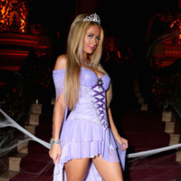 Paris Hilton Halloween 2014