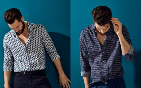 Massimo Dutti Indigo Issue Spring Summer 2016 Menswear 3