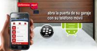 Olvídate de las llaves del garaje con la aplicación para smartphones Roper SmartDoor