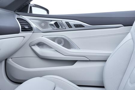BMW M850i Cabrio Interior molduras puertas
