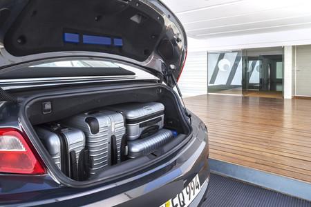 Opel Cabrio 2013, espacio en maletero