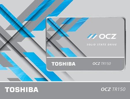Disco SSD de 480GB Toshiba OCZ TR150 por 129 euros y envío gratis