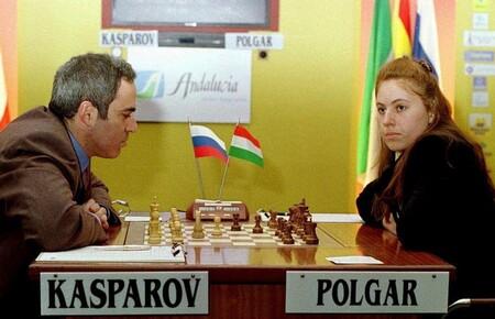 Kasparov Polgar