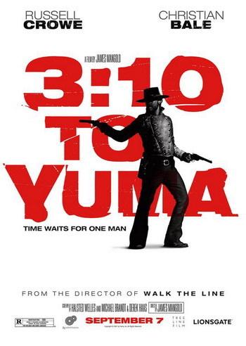 Nuevo póster de '3:10 to Yuma'